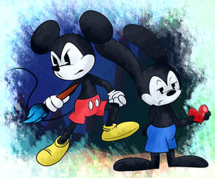 The Heros (Epic Mickey) by X-BlackPearl-X