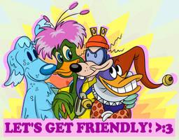 Friendly Four :3