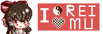 I love Reimu by Creamymaroll