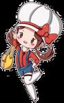 Chibi Kotone sticker by Creamymaroll