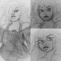 Amethyst Sketches