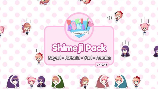 DDLC Shimeji Pack