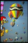 Ball Woody Woodpecker