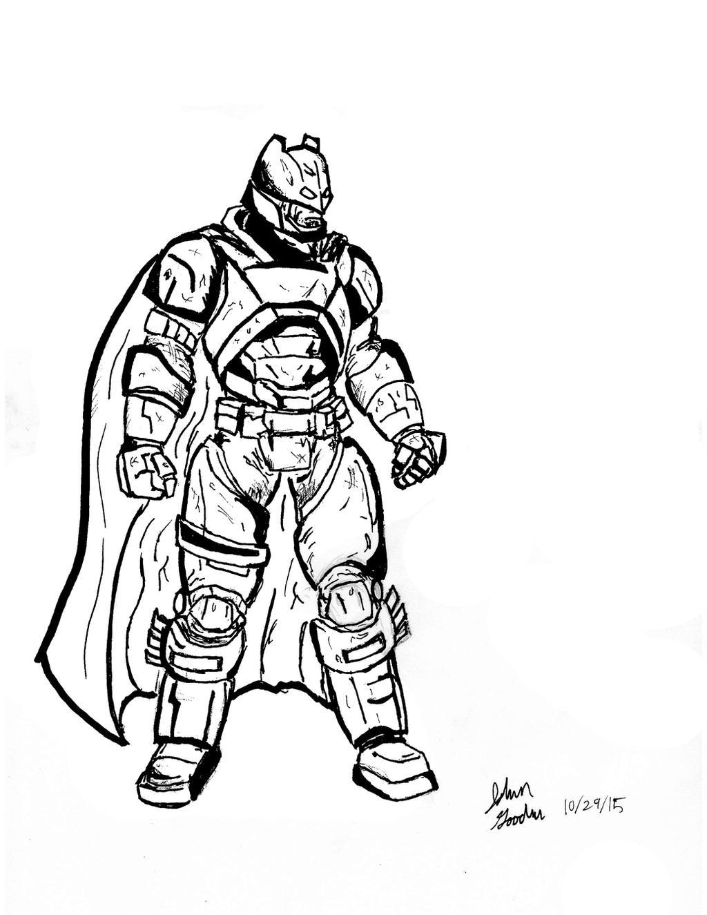 Batman Armored By Ace20xd6 On Deviantart