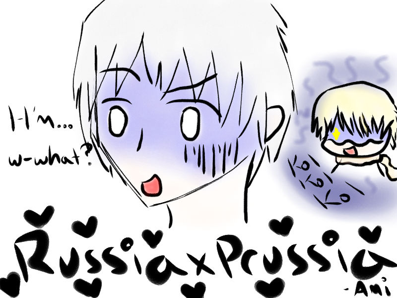 Prussia + Russia....MPREG by theepicmellofangirl