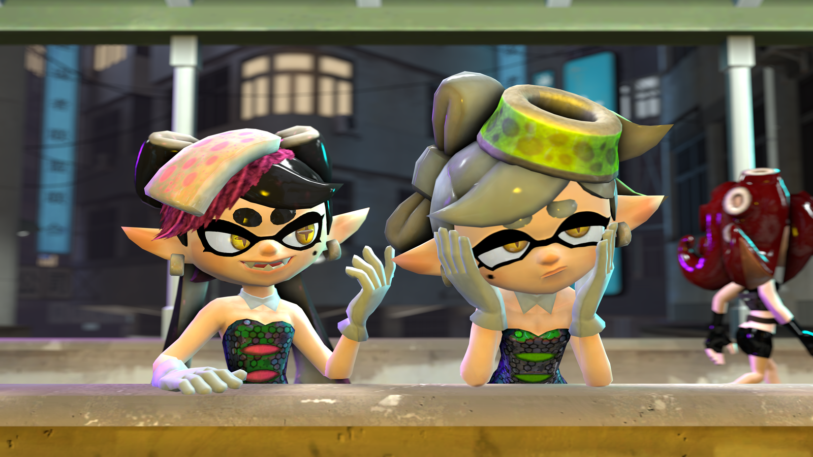 Callie And Marie Wallpaper: Callie And Marie (SFM) By Slava13 On DeviantArt