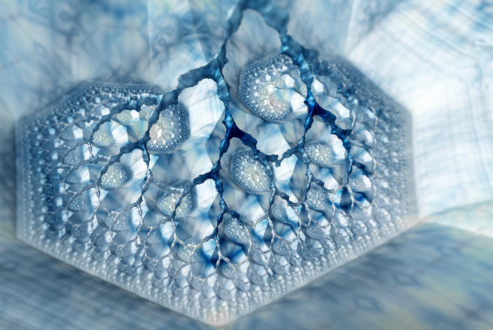 Ice heart by ElenaLight