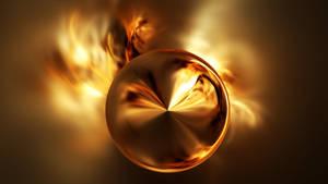 Fiery sphere by ElenaLight