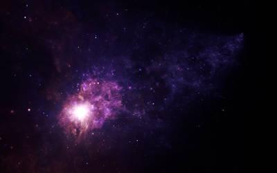 Galaxy tail by ElenaLight