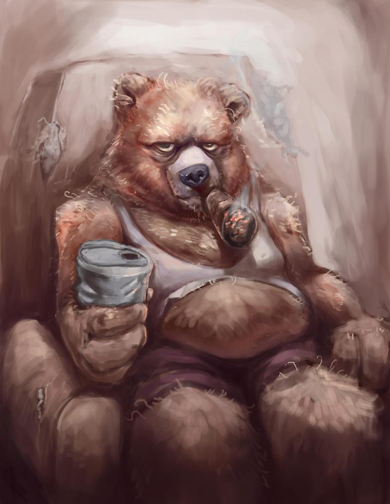 Papa Bear by ~artistic-diarrhea