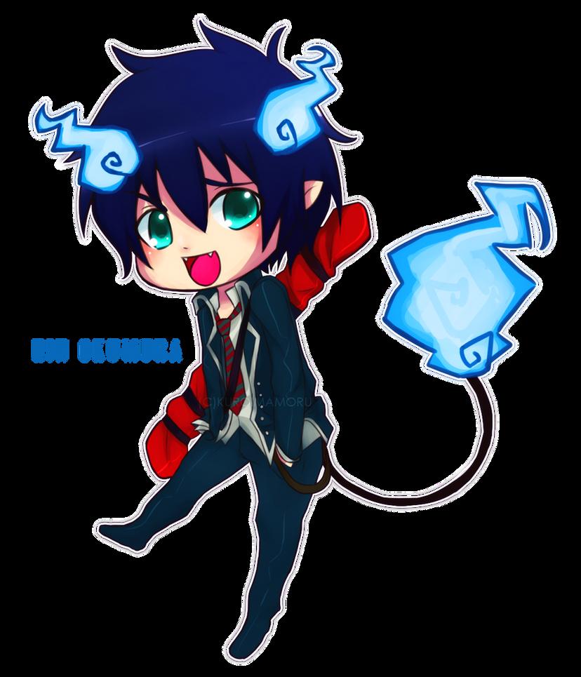 Chibi Exorcist by UnluckyLapin