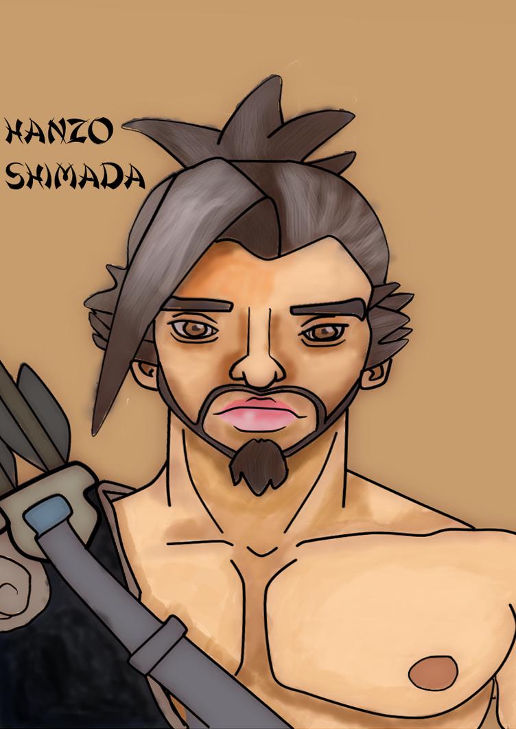 Hanzo Portrait - Redone by NahiLovesYou