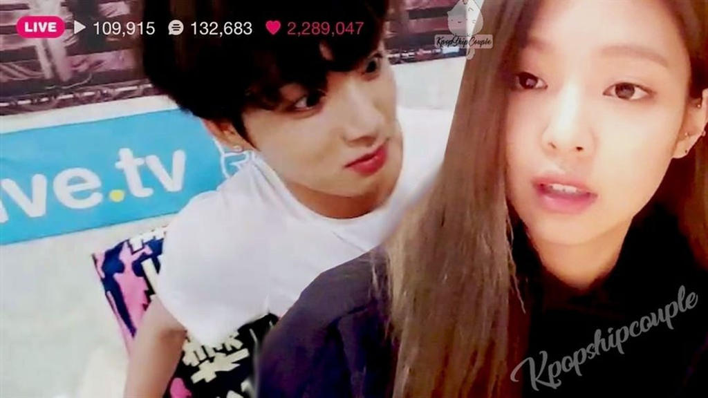 Edit Jungkook Bts X Jennie Blackpink 6 By