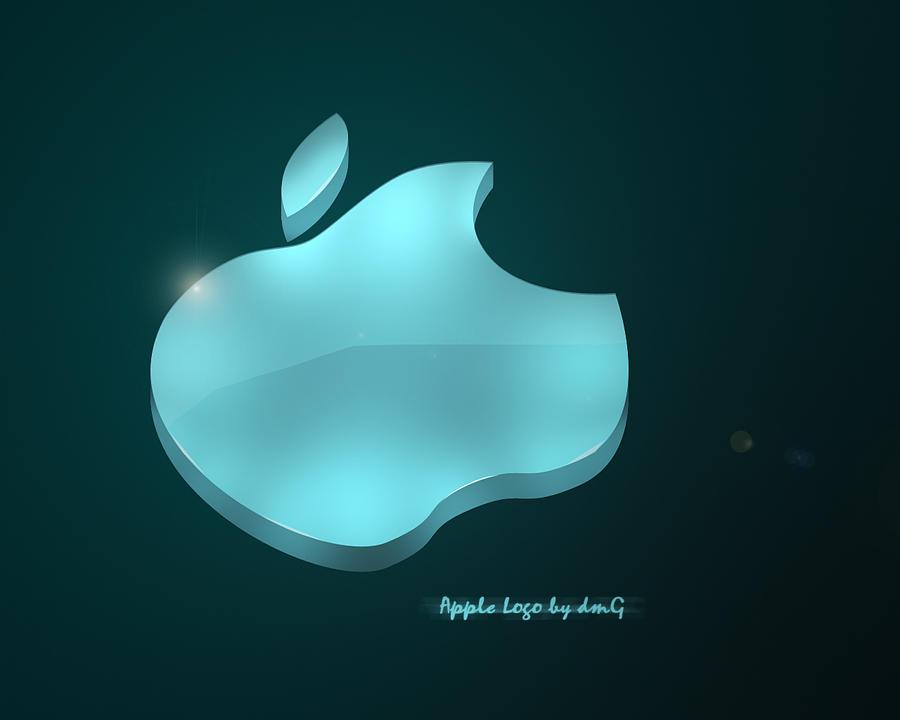 apple 3d logo wallper by j0rdanov on deviantart. Black Bedroom Furniture Sets. Home Design Ideas