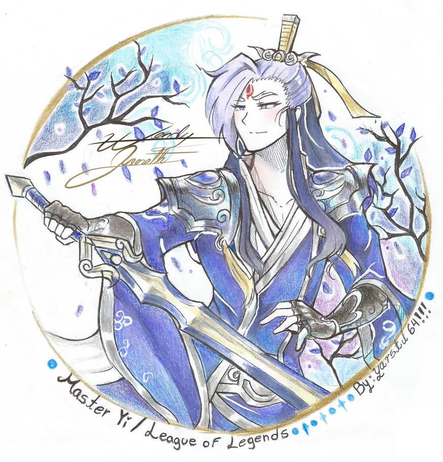 Yi Eternal Sword Fanart by yarsti