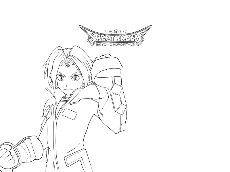 spectrobes coloring pages - photo#1