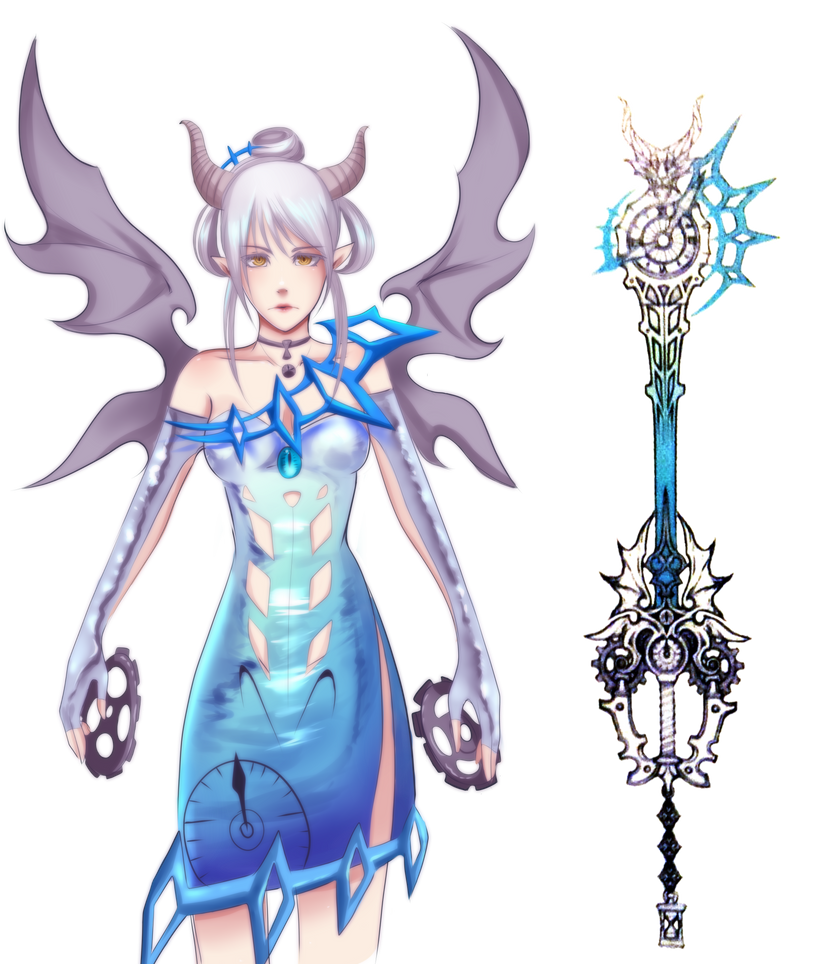 Young Xehanort's Keyblade Personified by Monksea