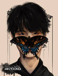 Min Yoongi: SwallowTail by IntoTheFrisson