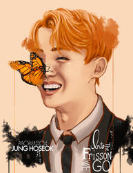 Jung Hoseok: Monarch Butterfly by IntoTheFrisson