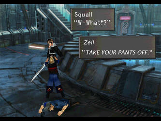 Zell Makes Funny Movements by devilsfinale