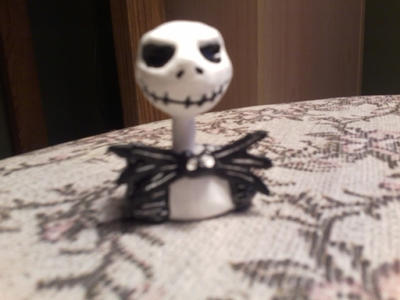 Jack Skellington Sculpture (In progress) by sinister7showdown