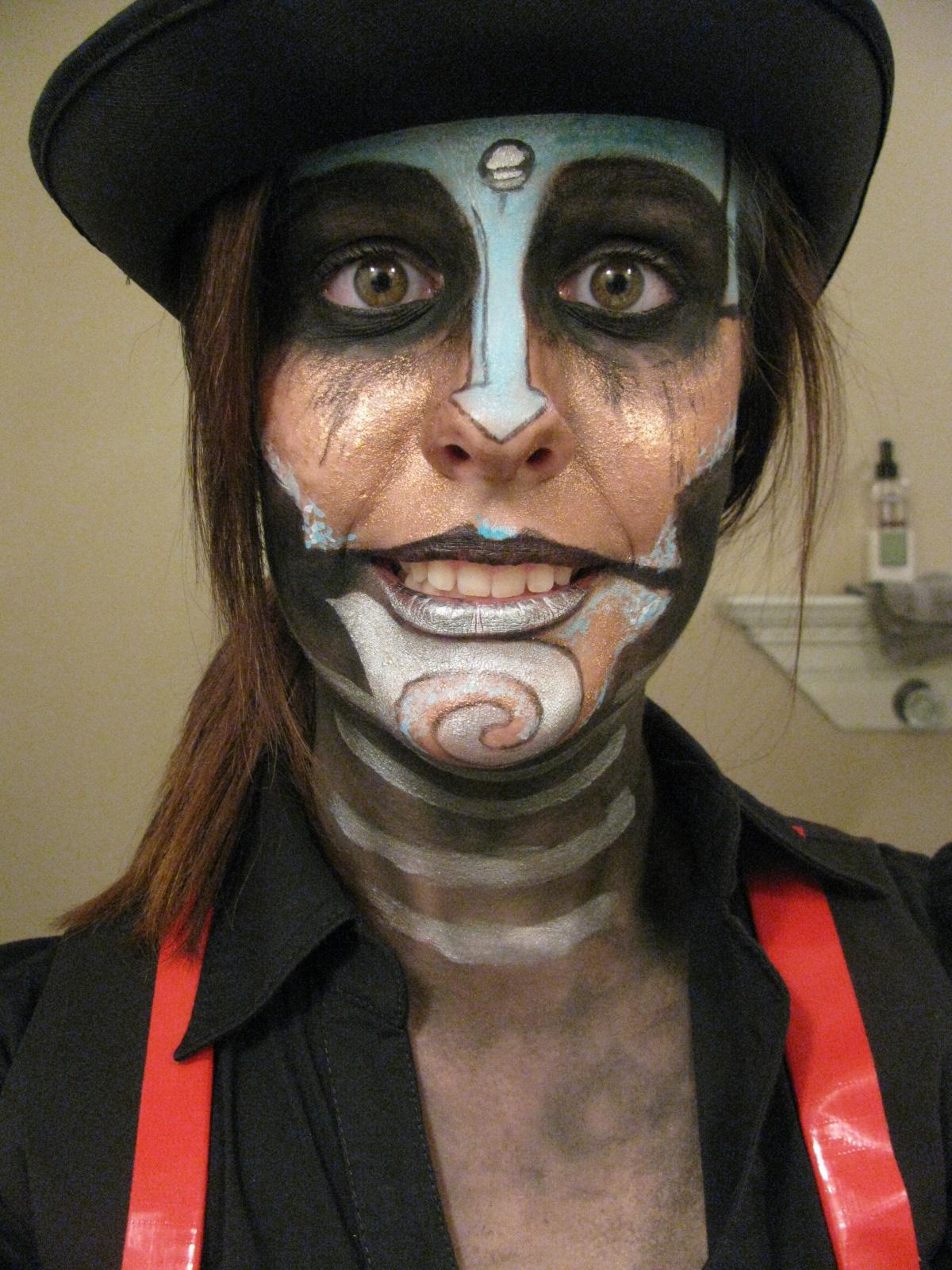 Steam-Powered Giraffe Rabbit Make-up