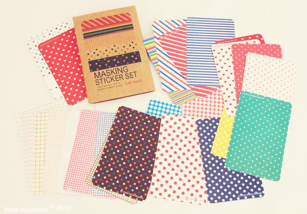 Japanese Masking Patterns by thatdesigngrl