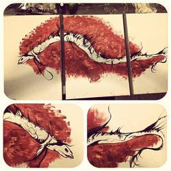 A serpente by gabsalvador