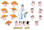 The Many faces Of Samurai Jack