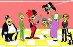 Simpsons DC Colored Complete