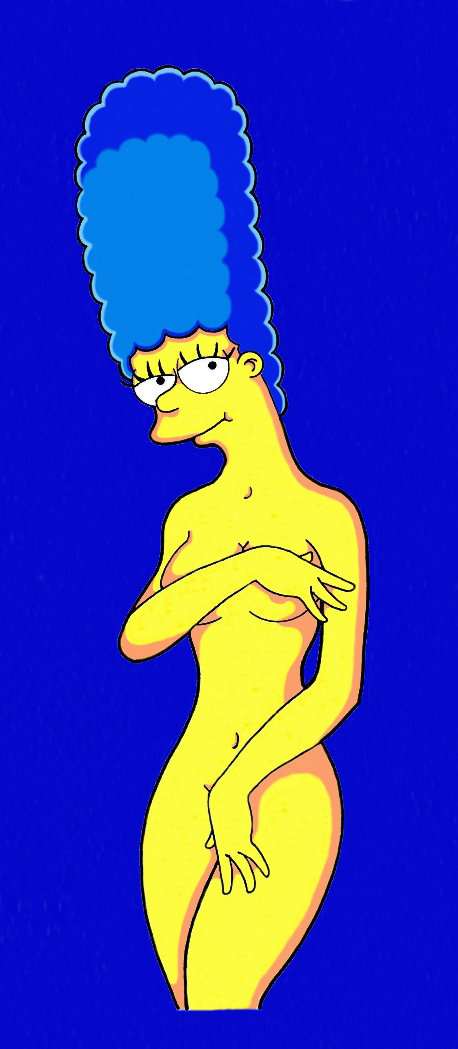 Notices marge simpson naked