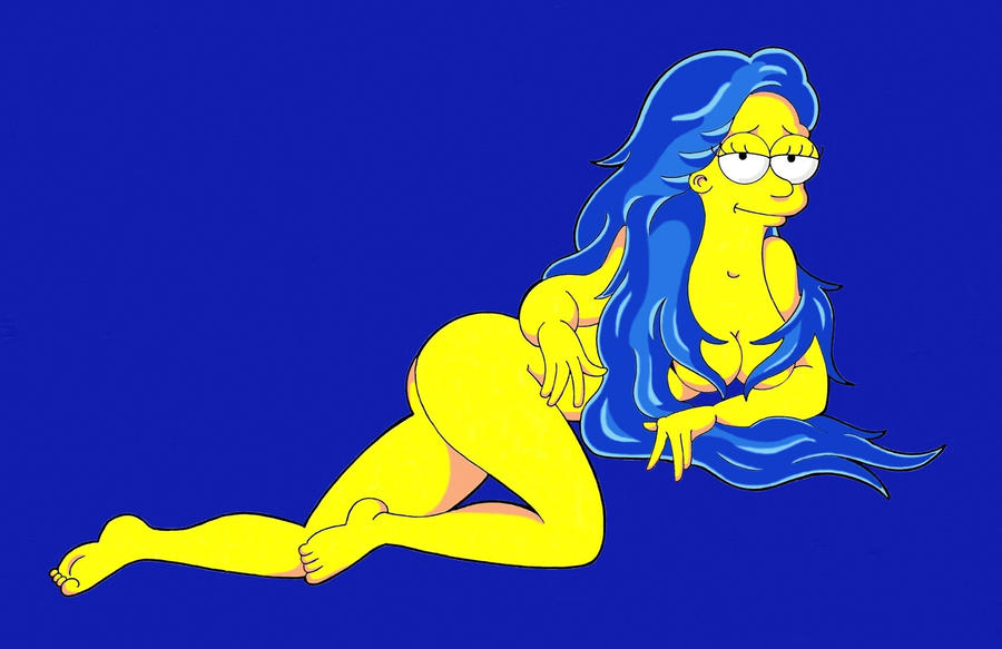 Marge Centerfold II by Nes44Nes