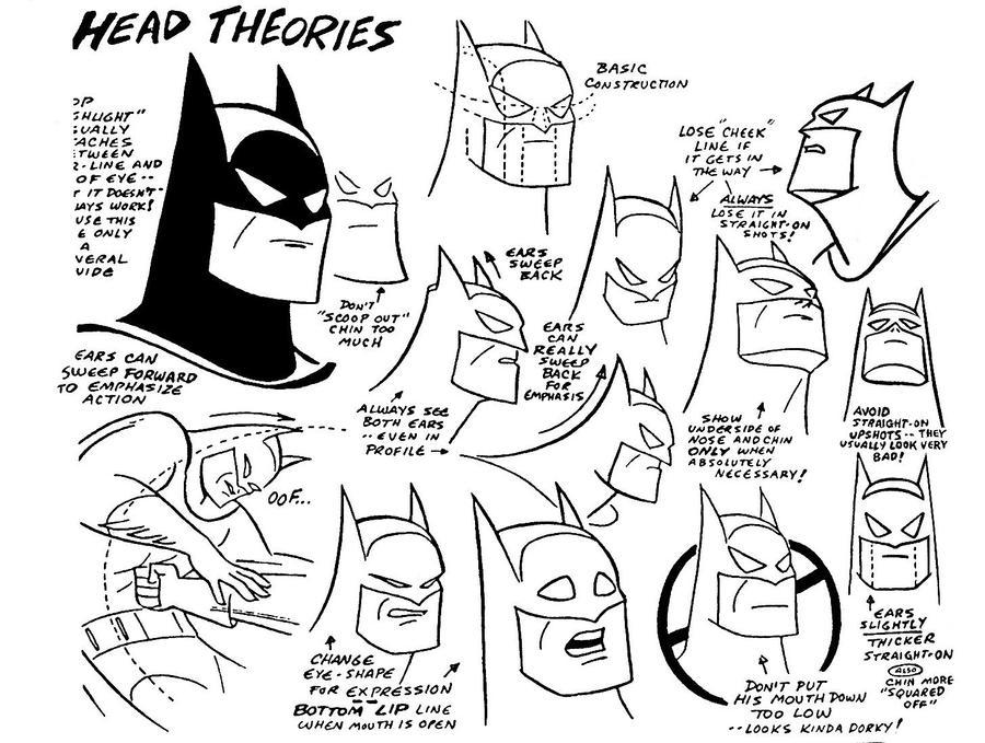 Batman Model Sheet IV