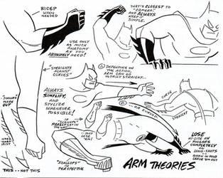 Batman Model Sheet V
