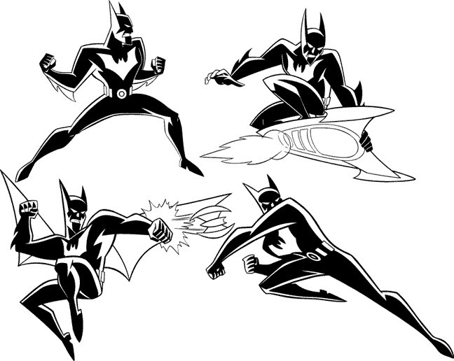 how to draw batman from the animated series