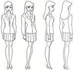 Lois Lane Model Sheet