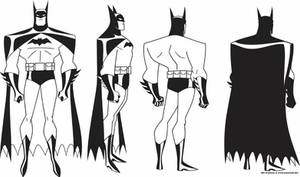 Batman JLA Model Sheet 1
