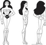 Wonder Woman Model Sheet