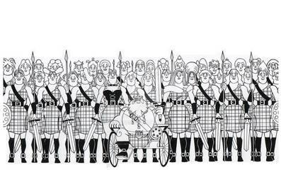 Scotsman's Legion of Daughter Warriors
