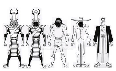 The Outfits of Samurai Jack V