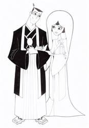 Samurai Jack and Ashi