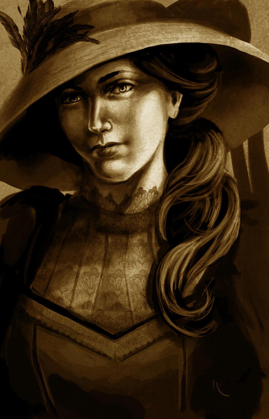 Victorian portrait by Anniez19