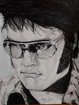 Elvis In Glasses