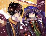 Vocaloids_Christmas without decorations