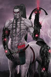Shiza-Zulkano 'Cyber-Centaur'