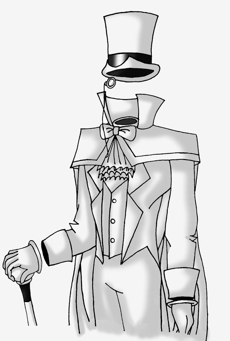 Gentleman Ghost by ZoeShiranui on DeviantArt