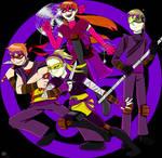 Commission: Hamato Kids
