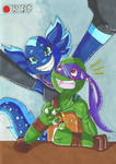 TMNT 2012: Smile for the camera Donnie by PastellTofu