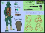 RotTMNT-next gen OC Tye by PastellTofu
