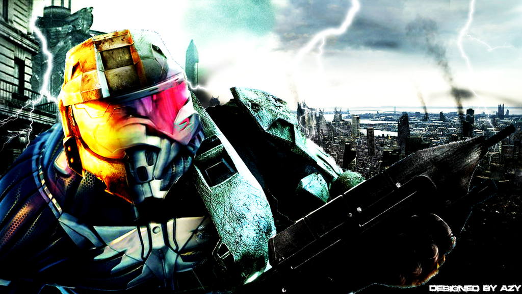 Halo 3 Crysis Wallpaper By LoL Azy